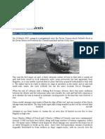 Tanker Incidents