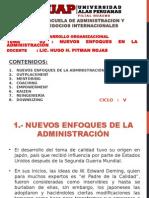 Tema Nº 03 - Nuevos Enfoques en La Administración