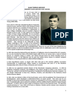 Complete List of Turing Archives Held at Sherborne School 14 August 2014
