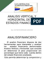 Analisis Vertical y Horizontal de Los Estados Financieros