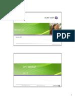 NPO Seminar Training Alcatel