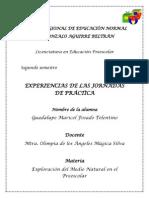 REGISTRO DE EXPERIENCIAS