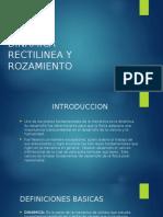 Dinamica Rectilinea y Rozamiento