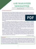 [19] AAR Mahaveer Newsletter July 2015