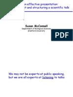 Presentation Sue McConnell