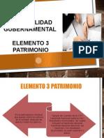 Contabilidad Gubernamental Elemento 3