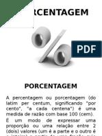 Porcentagem e Juros Simples