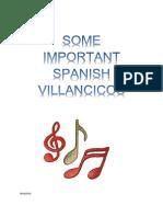 Some Spanish Villancicos