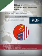 Summary Report US-China 21