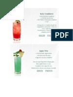 Drinks Não Alcoólicos Com Xaropes Kaly