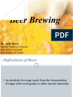 beer brewing powerpoint