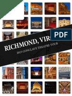 2015 - Conclave Theatre Tour Souvenir Book