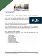 k - Organisasi Pelaksanaan Pekerjaan