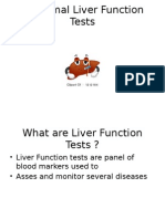 Abnormal Liver Function & Tests