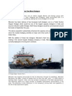 Mercator Limited Acquires Two More Dredgers [Company Update]