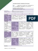 Matriz de Valoracion Portafolio Digital