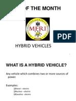 Hybrid Vehicles 1