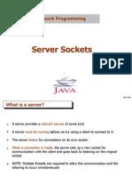 Server Sockets