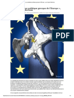 Jürgen Habermas_La Scandaleuse Politique Grecque de l'Europe