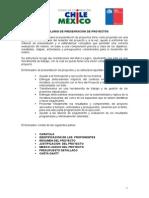 Formato Presentacion de proyecos