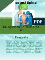 Terjemahan Spinal Anestesi Baru