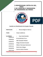 TA Gestión de Mantenimiendo de Equipo Pesado 2015.docx