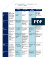 AUTOEVALUACIÓN 2015-evaluación