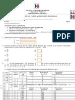 Evaluacion Mate 9 Primer Quimestre