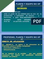 Propiedad, Planta y Equipo Nic-sp 17