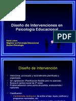 Unidad 2, Estrategias de Diseño de Intervención