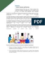 Como Hacer Perfumes
