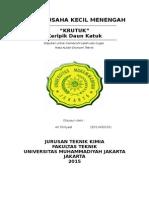Ari Fitriyadi_2011430101_Keripik Daun Katuk