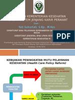 Kebijakan Kemkes Dalam Implementasi Jenjang Karir Perawat_unair