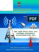 National Frequency Allocation Plan-2011