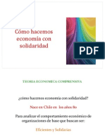 Clase 5 Como Hacer Economia Con Solidaridad