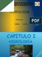 Hidrológica,  El agua  y ciclo hidrologico
