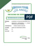 Fichas de Resumen y Textuales