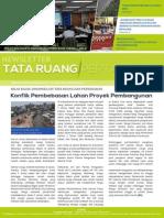 Newsletter Tata Ruang dan Pertanahan Edisi Mei 2015