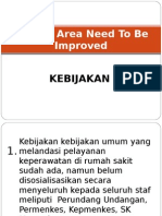 Contoh Area Need to Be Improved