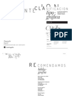 Clasificacion Tipográfica