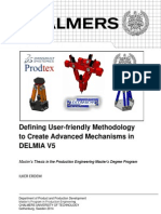 Advanced Mechanisms in DELMIA V5