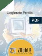 Corporate Profile ZobbleSolutions