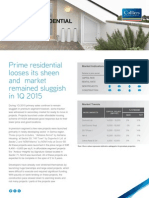 Gurgaon Residential Property Market Overview -May 2015