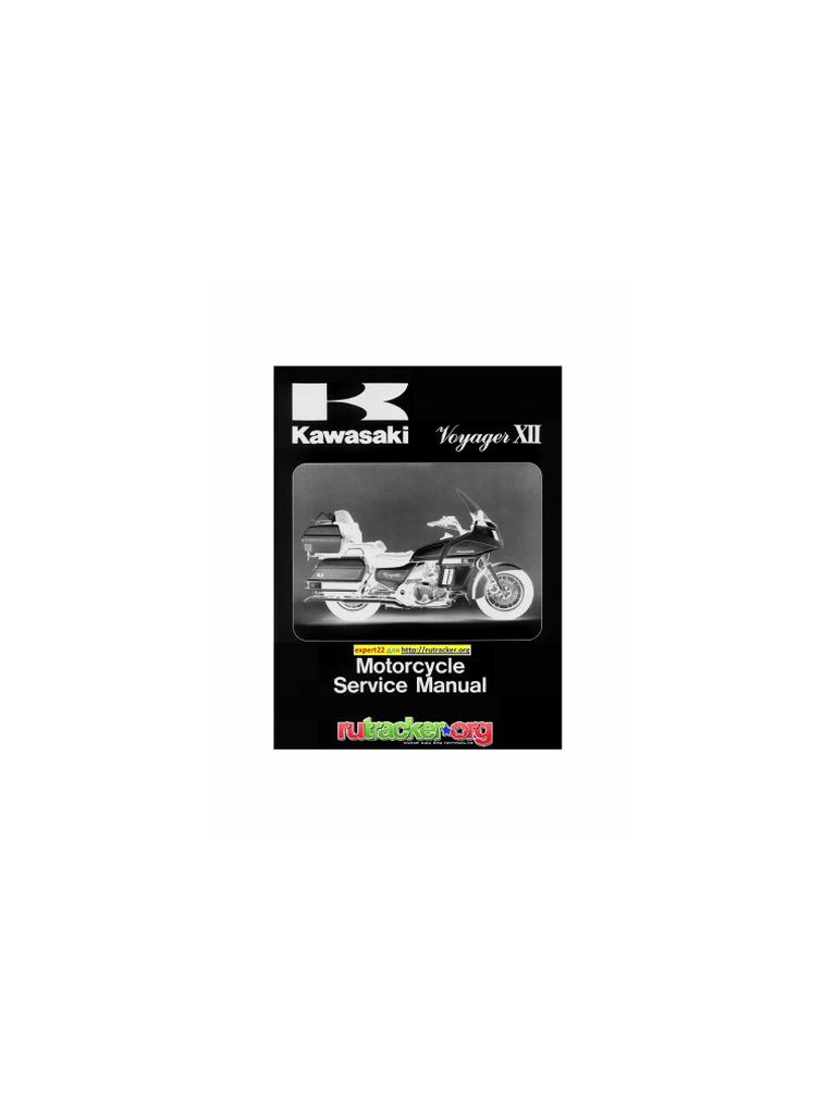 Kawasaki Voyager XII ZG1200 B1-B.. (86-92) full by Jeffrey Warneking |  Carburetor | Throttle
