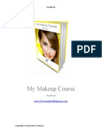 My Makeup Course Handbook