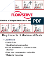 Single Seals Piping Plan Review