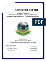 Self Assessment Report English