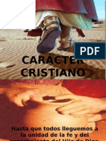 Carácter Cristiano