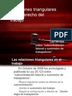 IX Relaciones Triangulares en El Derecho Del Trabajo - 2