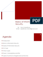 Basics of Information Security